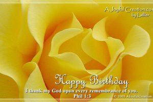 SURPRISE POST Pastor Mack's Birthday!